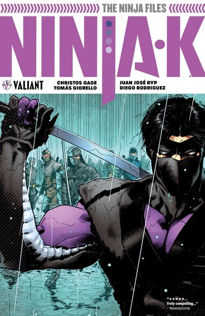 Ninja-K Vol. 1 – The Ninja Files (TPB) (2018)