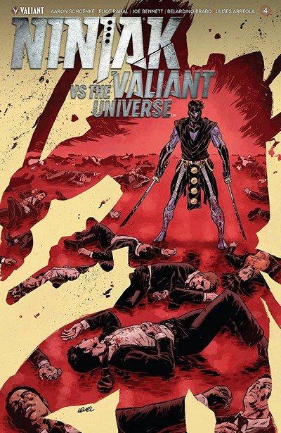 Ninjak vs. The Valiant Universe #4 (2018)