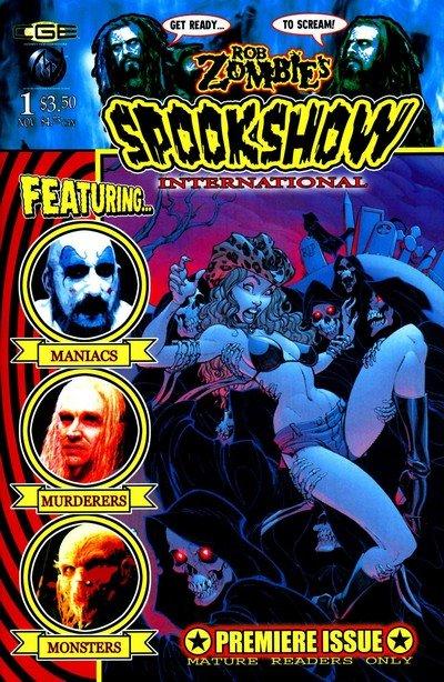 Rob Zombie's Spookshow International #1 – 9 (2003-2004) (Adult Comics)