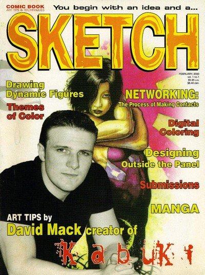 Sketch Magazine #1 – 39 + 43 (2000-2009)