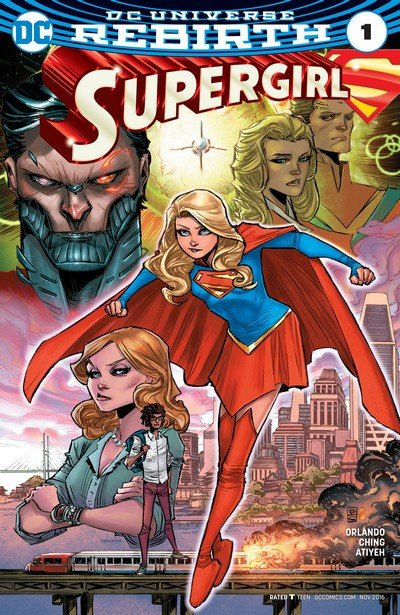 Supergirl Vol. 7 – Rebirth #1 + 1 – 20 + Annual (2016-2018)