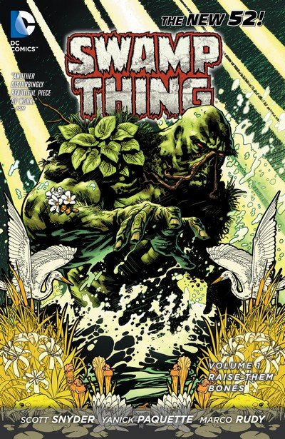Swamp Thing Vol. 5 (New 52 TPB) – Vol. 1 – 3 (2012-2013)