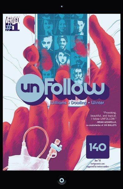 Unfollow #1 – 18 + TPB Vol. 1 – 3 (2016-2017)