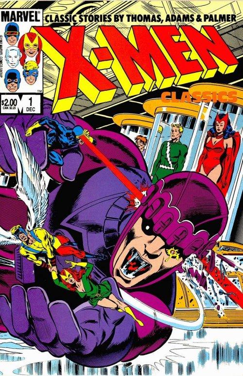 X-Men Classics Starring the X-Men #1 – 3 (1983)