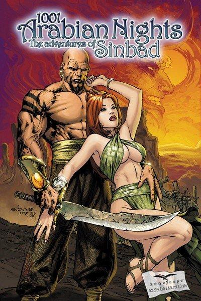 1001 Arabian Nights – The Adventures of Sinbad #0 – 13 +TPBs (2008-2011)