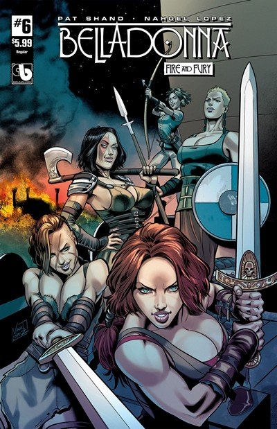 Belladonna – Fire and Fury #6 (2018) (ADULT)