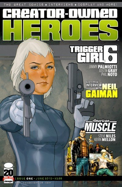 Creator-Owned Heroes #1 – 8 (2012-2013)
