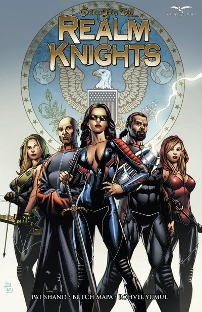 GRIMM FAIRY TALES REALM KNIGHTS GIANT SIZE 2015 ZENESCOPE COMICS DECEMBER 2015