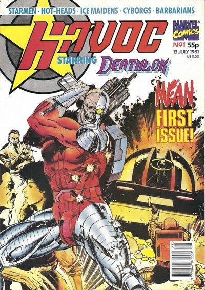 Havoc #1 – 9 (1991)