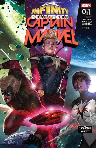 Infinity Countdown – Captain Marvel #1 (2018)