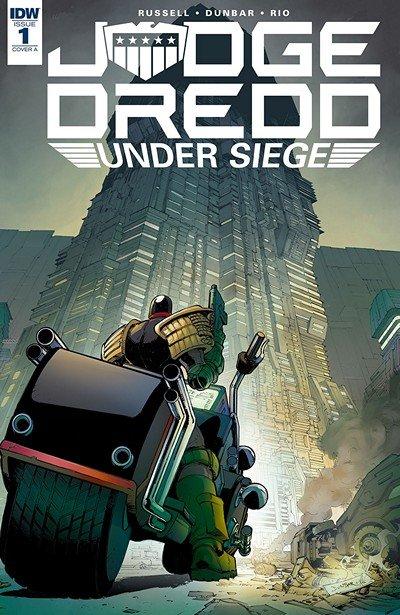 Judge Dredd – Under Siege #1 (2018)
