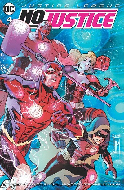 Justice League – No Justice #4 (2018)