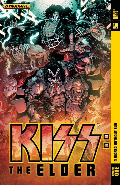KISS – The Elder Vol. 1 – A World Without Sun (TPB) (2017)