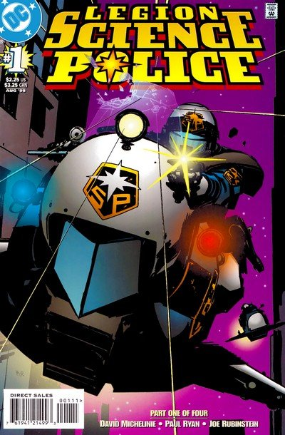 Legion – Science Police #1 – 4 (1998)