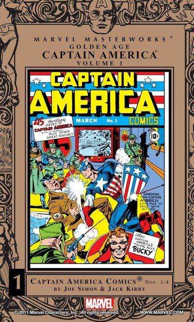 Marvel Masterworks – Golden Age Captain America Vol. 1 – 5 (2005-2011)