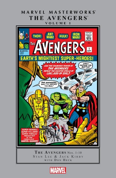 Marvel Masterworks – The Avengers Vol. 1 – 18 (2003-2018)
