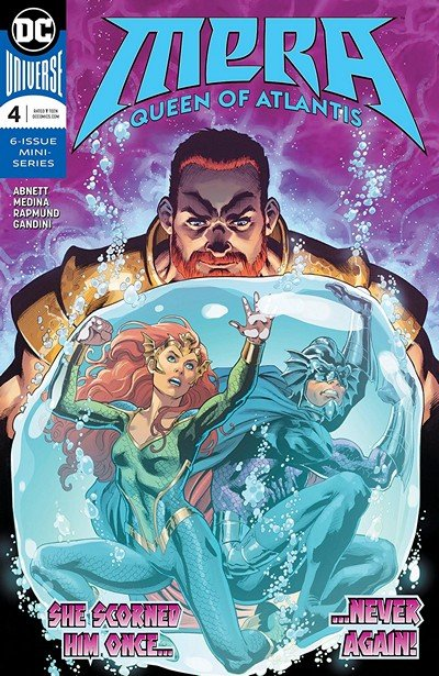 Mera – Queen Of Atlantis #4 (2018)