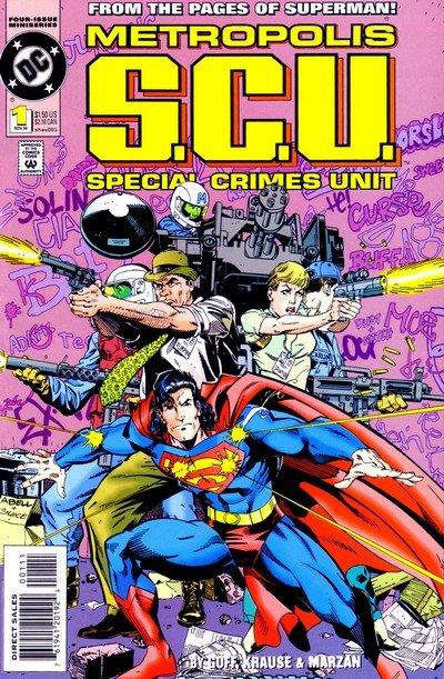 Metropolis S.C.U. #1 – 4 (1994-1995)