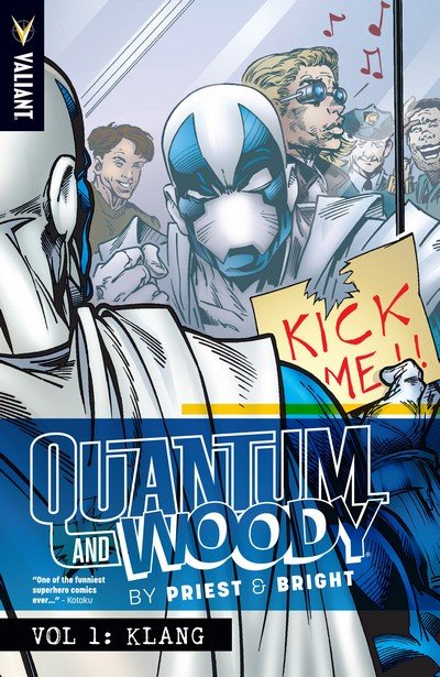 Quantum and Woody by Priest & Bright Vol. 1 – Klang (TPB) (2015)