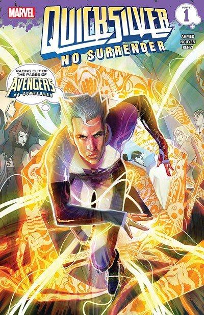 Quicksilver – No Surrender #1 (2018)