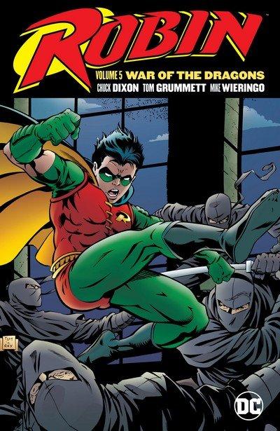 Robin Vol. 5 – War of the Dragons (TPB) (2017)