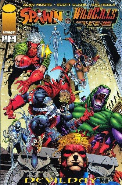 Spawn – WildC.A.T.S #1 – 4 (1996)