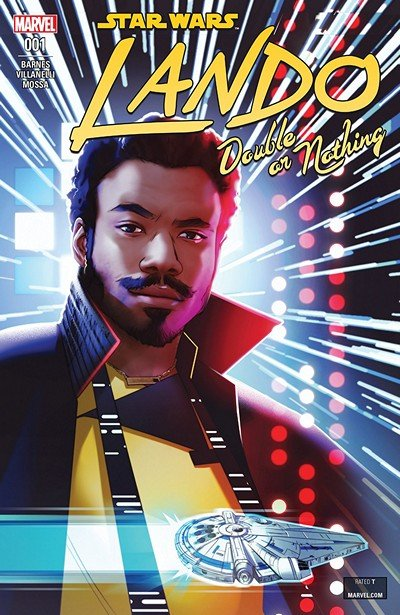 Star Wars – Lando – Double Or Nothing #1 (2018)