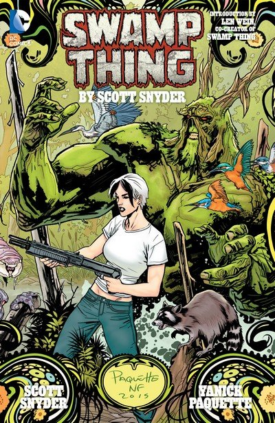 Swamp Thing by Scott Snyder – The Deluxe Edition (New 52 TPB) (2015)