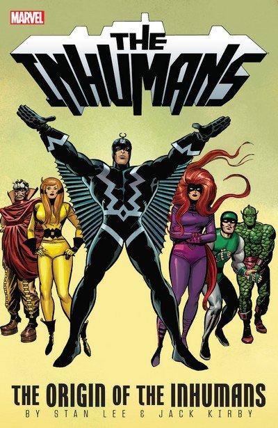 The Inhumans – The Origin Of The Inhumans (TPB) (2013)