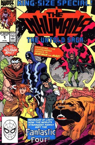 The Inhumans – Untold Saga (1990)