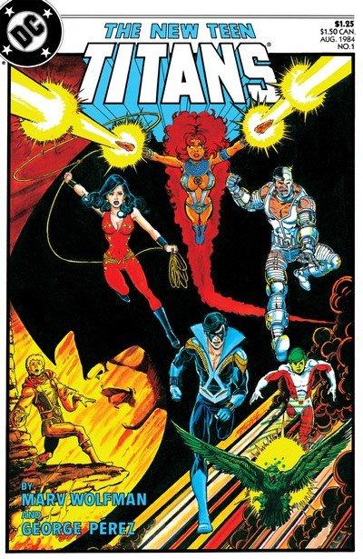 The New Teen Titans Vol. 2 #1 – 49 + Annuals (1984-1988) (Digital)