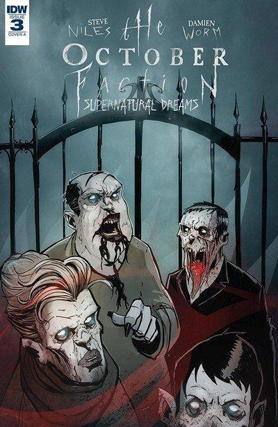 The October Faction – Supernatural Dreams #3 (2018)