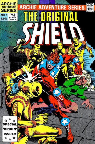 The Original Shield #1 – 4 (1984)