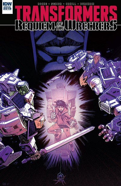 Transformers – Requiem Of The Wreckers Annual (2018)