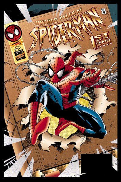 Marvel Comic SPIDER-MAN The Lost year #2 1995