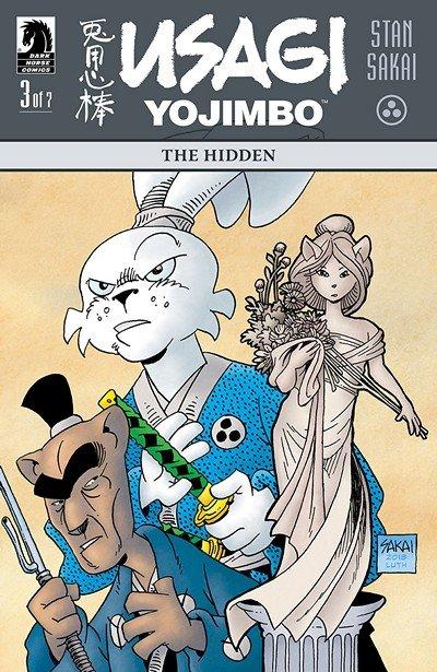 Usagi Yojimbo – The Hidden #3 (2018)