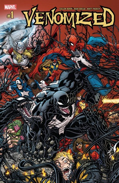 Venomized #1 – 5 (2018)