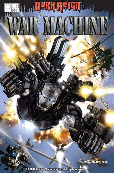 War Machine Vol. 2 #1 – 12 (2009-2010)