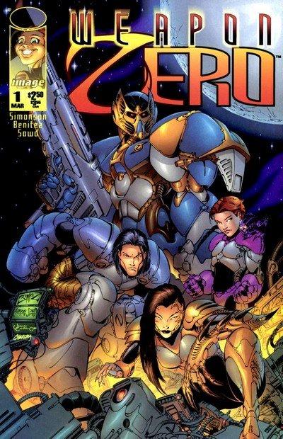 Weapon Zero Vol. 2 #1 – 15 (1996-1997)