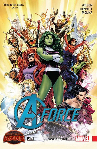 A-Force Vol. 0 – Warzones! (TPB) (2016)