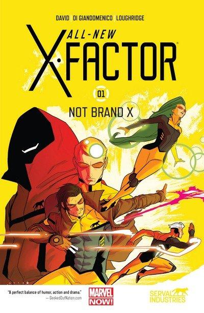 All-New X-Factor Vol. 1 – 3 (TPB) (2014-2015)