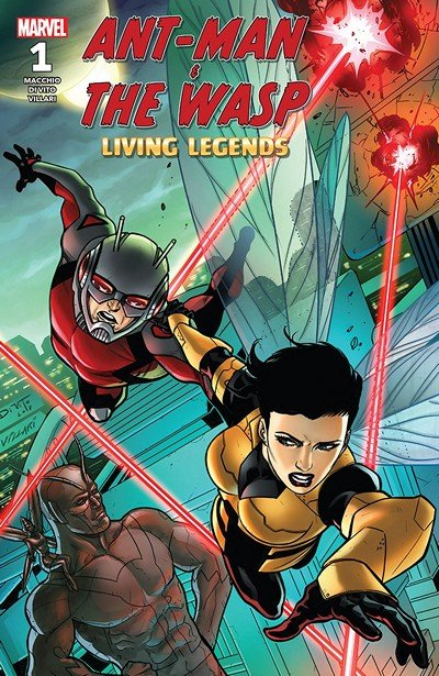 Ant-Man And The Wasp – Living Legends #1 (2018)