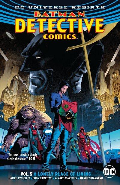 Batman – Detective Comics Vol. 5 – A Lonely Place of Living (TPB) (2018)