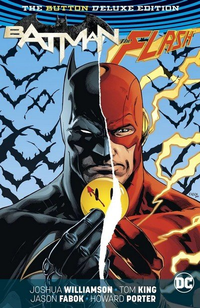 Batman-The Flash – The Button Deluxe Edition [Collected Edition] HC (2017)