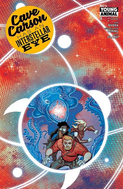 Cave Carson Has An Interstellar Eye #4 (2018)