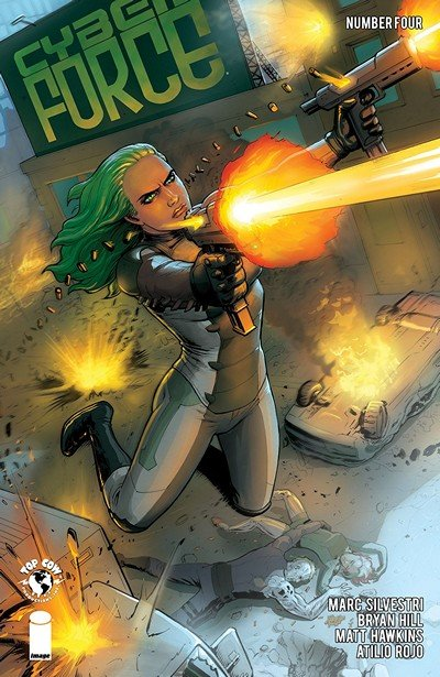 Cyber Force #4 (2018)