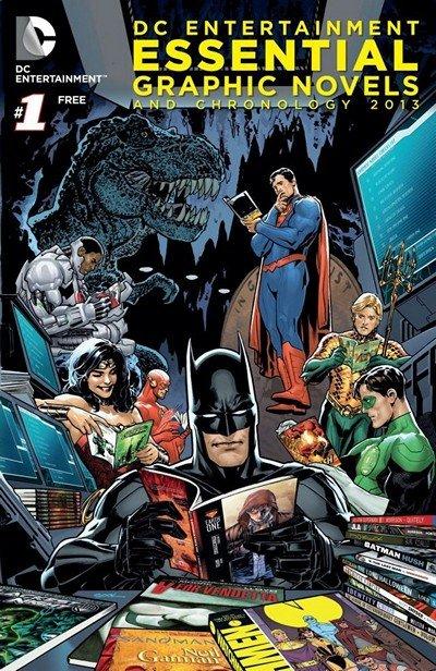 DC Essential Graphic Novels 2013-2019