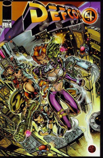 Defcon4 #1 – 4 (1996)