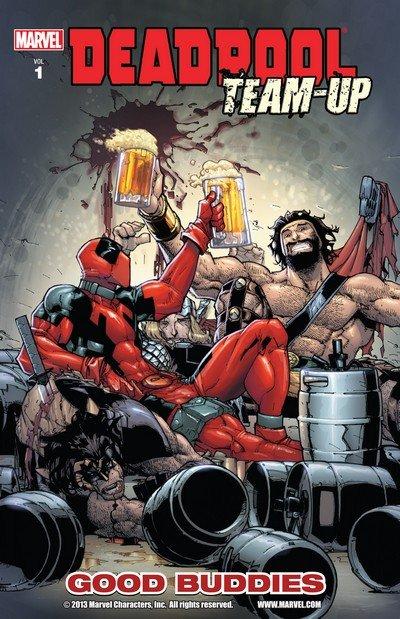 Deadpool Team-Up Vol. 1 – 3 (TPB) (2010-2011)