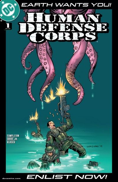Human Defense Corps #1 – 6 (2003)